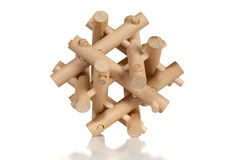 Wooden Puzzle Stock Photo