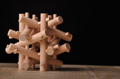 Free Wooden Puzzle Stock Images - 7733544