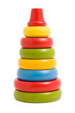 Wooden pyramid children's toy Stock Photography