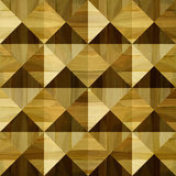 Wooden pyramids stacked for seamless background Stock Photos
