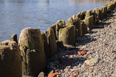 Wooden quay Stock Image