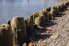 Wooden quay Stock Image