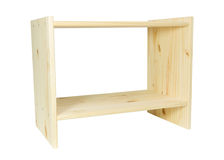 Wooden rack Royalty Free Stock Photography