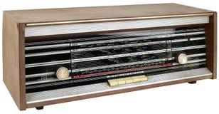 Wooden Radio Apparatus Cutout Royalty Free Stock Photos