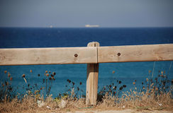 Wooden Rail Stock Image