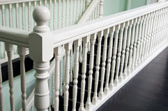 Wooden Railing Stock Image