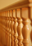 Wooden railing Royalty Free Stock Photography