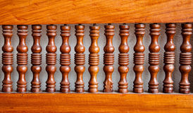 Wooden rails Stock Photography