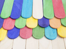 Wooden Rainbow Royalty Free Stock Images