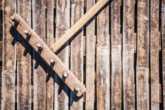 Wooden Rake Stock Photography