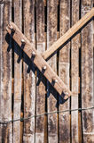 Wooden Rake Royalty Free Stock Image
