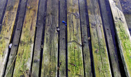 Wooden ramp for boats-3 Stock Photography
