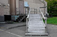 Wooden Ramp Royalty Free Stock Photos