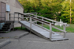 Wooden Ramp Royalty Free Stock Photo