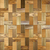 Wooden rectangular parquet, seamless background Royalty Free Stock Photography