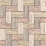 Wooden rectangular parquet stacked for seamless background Royalty Free Stock Photography