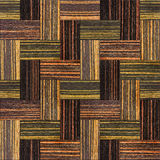 Wooden rectangular parquet stacked for seamless background Royalty Free Stock Photos