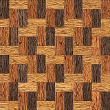 Wooden rectangular parquet stacked for seamless background. Stock Photos