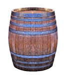 Wooden retro barrel Stock Image