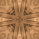 Wooden retro board star cross seamless background texture Royalty Free Stock Photos