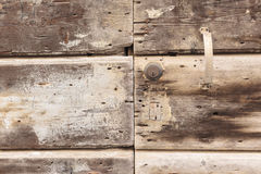 Wooden Retro Door Royalty Free Stock Photography