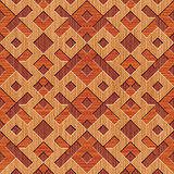 Wooden rhombuses background Stock Image