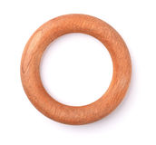 Wooden ring Stock Images