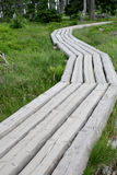 Wooden road Royalty Free Stock Photography
