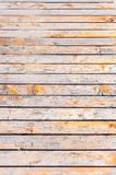 Wooden road background. Stock Photography