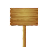 Wooden road board Royalty Free Stock Photography