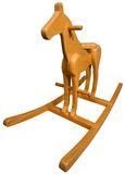 Wooden Rocking Horse Stock Photography
