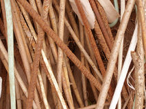 Wooden rods Royalty Free Stock Photo