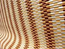 Wooden roller blinds Stock Photography