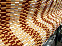 Wooden roller blinds Royalty Free Stock Photography