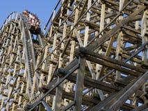 Wooden Roller Coaster Stock Photos