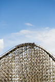 Wooden rollercoaster, Sevenum, The Netherlands Royalty Free Stock Photos