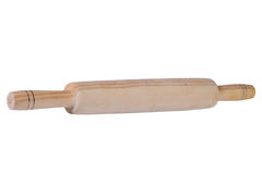 Wooden rolling pin plunger Royalty Free Stock Image