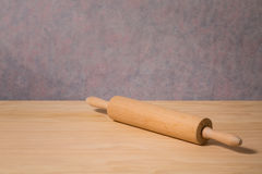 Wooden rolling pin Stock Images