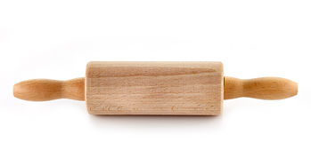 Wooden rolling pin Royalty Free Stock Photos