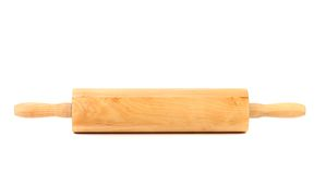 Wooden rolling pin Royalty Free Stock Photography