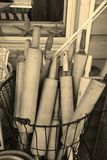 Wooden rolling pins Stock Image