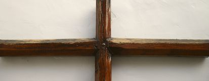 Wooden rood Royalty Free Stock Photography