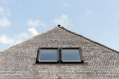 Wooden Roof. Stock Photography