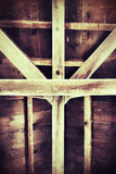 Wooden roof Royalty Free Stock Images