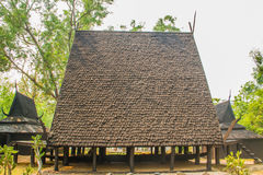 Wooden roof Stock Image