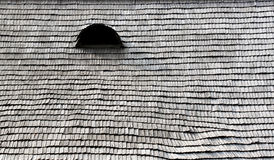 Wooden roof with eye - RAW format Stock Photos