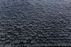 Wooden roof. Of Northern house of thailand Stock Image
