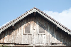 Wooden roof Royalty Free Stock Photo