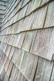 The Wooden roof shingles background Royalty Free Stock Image