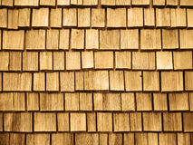 Wooden roof Shingles Royalty Free Stock Photos